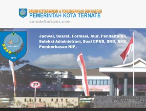 Pengumuman Hasil SKB CPNS Kota Ternate Formasi 2019