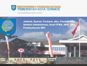 Jadwal Pendaftaran CPNS Kota Ternate 2021 Lulusan SMA SMK D3 S1 S2