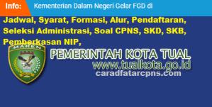 Jadwal Pendaftaran CPNS Kota Tual 2021 Lulusan SMA SMK D3 S1 S2