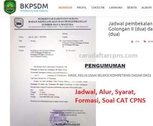 Jadwal Pendaftaran CPNS Kabupaten Subang 2021 Lulusan SMA SMK D3 S1 S2