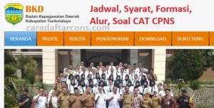 Jadwal Pendaftaran CPNS Kabupaten Tasikmalaya 2021 Lulusan SMA SMK D3 S1 S2