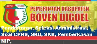 Pengumuman CPNS Kabupaten Boven Digoel 2021 Lulusan SMA SMK D3 S1 S2