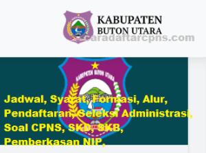 CPNS 2019 Kabupaten Buton Utara