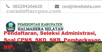 Jadwal SKB CPNS Kabupaten Halmahera 2019 2020