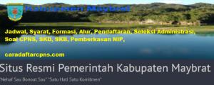 Pengumuman Hasil Akhir CPNS Kabupaten Maybrat Formasi 2019