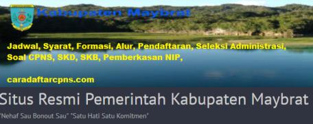 Pengumuman CPNS Kabupaten Maybrat 2021 Lulusan SMA SMK D3 S1 S2