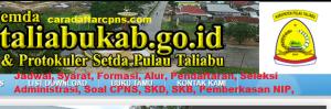 Pengumuman CPNS Kabupaten Taliabu 2021 Lulusan SMA SMK D3 S1 S2