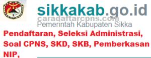 Pengumuman Hasil SKD SKB CPNS Kab Sikka 2019 2020