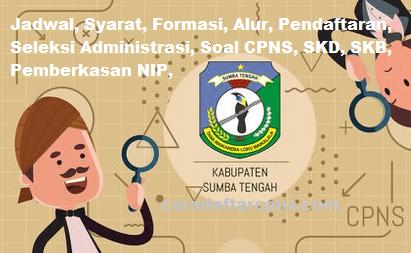 Pengumuman Hasil Akhir CPNS Kabupaten Sumba Tengah Formasi 2019