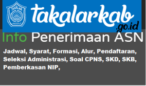 Pengumuman Hasil SKB CPNS Kabupaten Takalar Formasi 2019