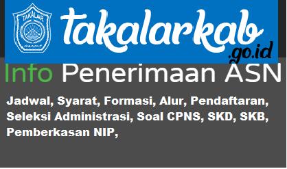 Pengumuman CPNS Kabupaten Takalar 2021 Lulusan SMA SMK D3 S1 S2
