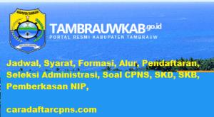 Jadwal SKB CPNS Kabupaten Tambrauw 2019 2020