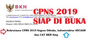 Teknis Pendaftaran CPNS 2019