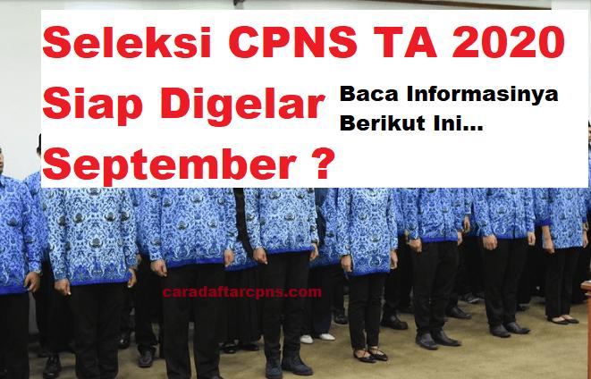 Informasi Jadwal CPNS 2020