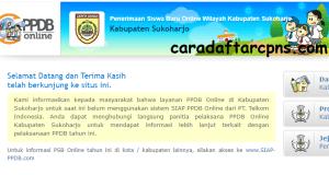 Pengumuman Hasil PPDB SMA SMK Negeri Kabupaten Sukoharjo 2020 2021