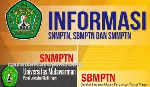 Pengumuman Hasil SBMPTN Universitas MULAWARMAN Unmul 2020 2021