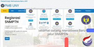 Pengumuman SNMPTN UTBK SBMPTN UNY 2021