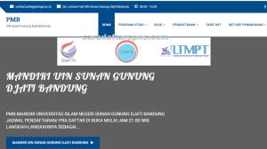 Pengumuman Hasil Seleksi Jalur Mandiri UIN Bandung 2020