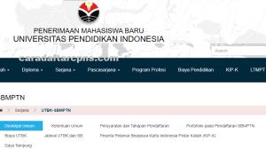 Pengumuman Hasil SBMPTN Universitas PENDIDIKAN INDONESIA UPI 2020 2021