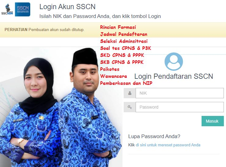 Jadwal Pendaftaran Seleksi CPNS 2021