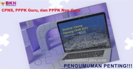 Jadwal pendaftaran CPNS 2021