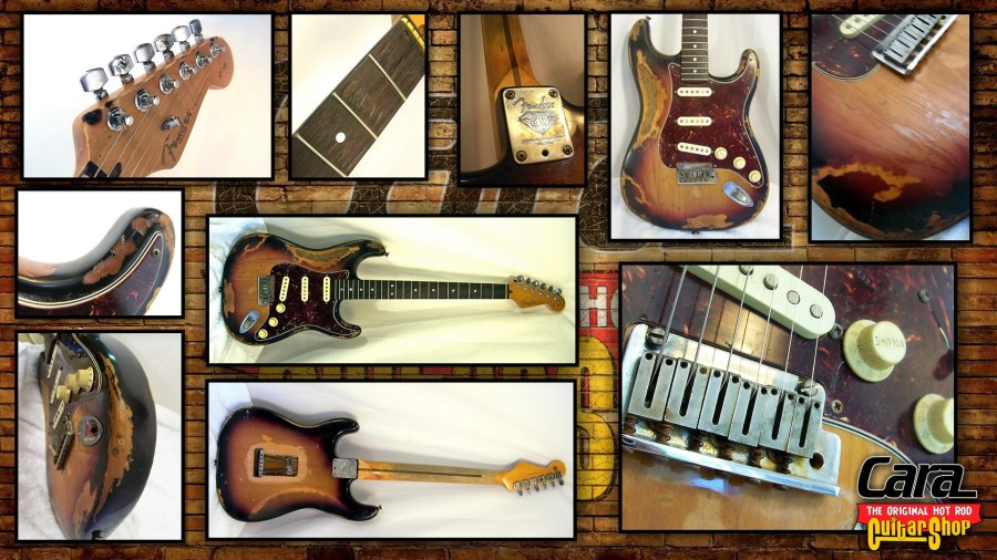 Stratocaster Relic Guitars by Jim Cara