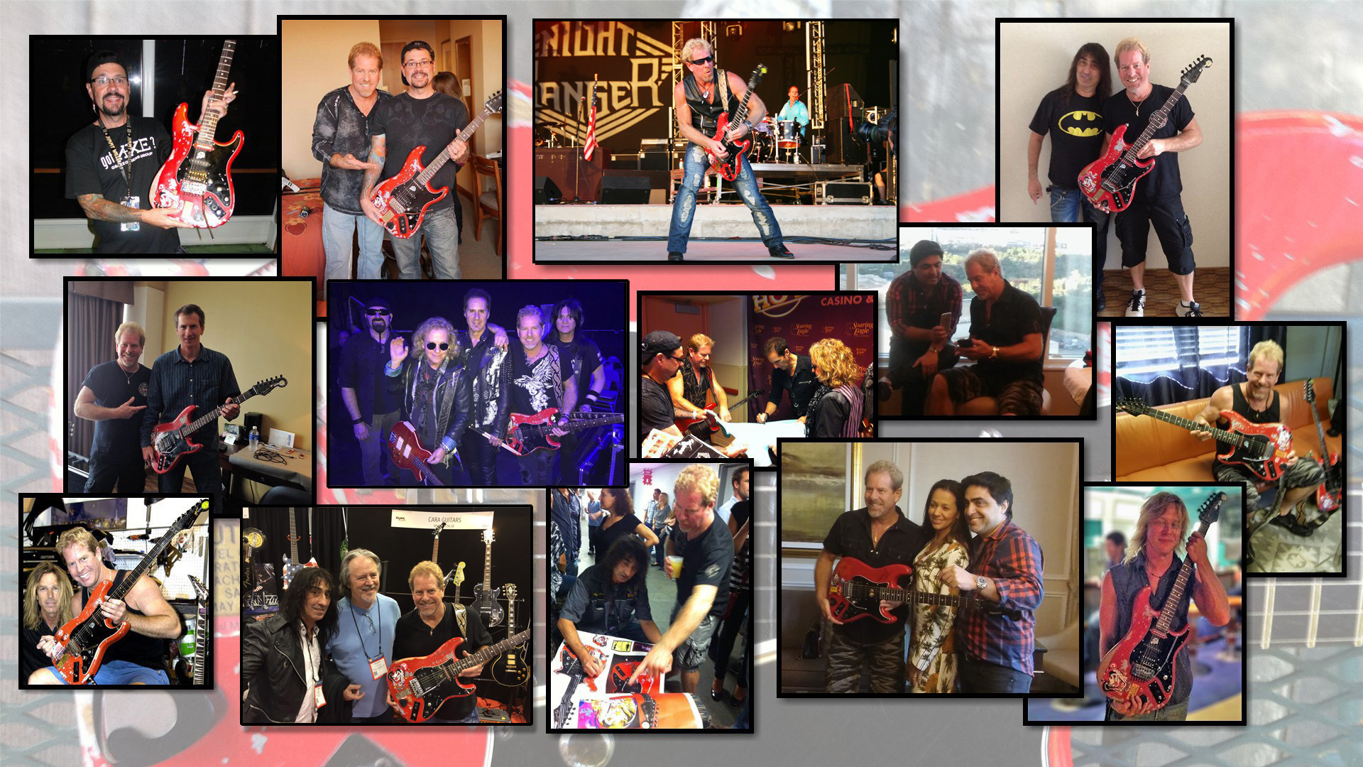 Photos of Brad Gillis Guitar Owners