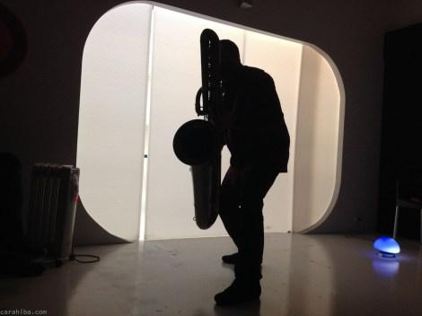 Ferran Besalduch - bass saxophone