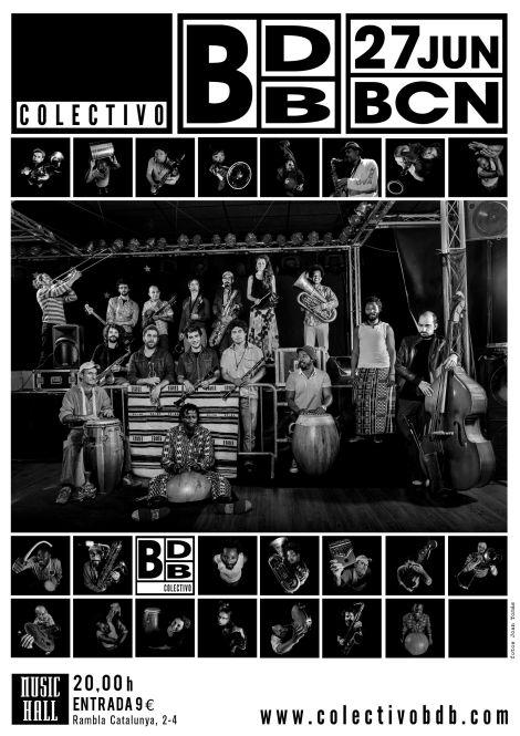 Colectivo BDB Barcelona June 2013 flier