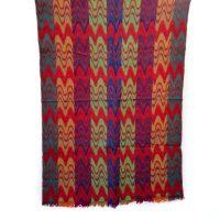 Autumn Chevrons Merino Wool Shawl   Caraliza Designs