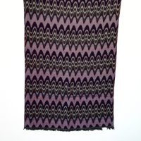 Strawberry Chocolate Merino Wool Shawl | Caraliza Designs