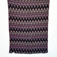 Strawberry Chocolate Merino Wool Shawl   Caraliza Designs