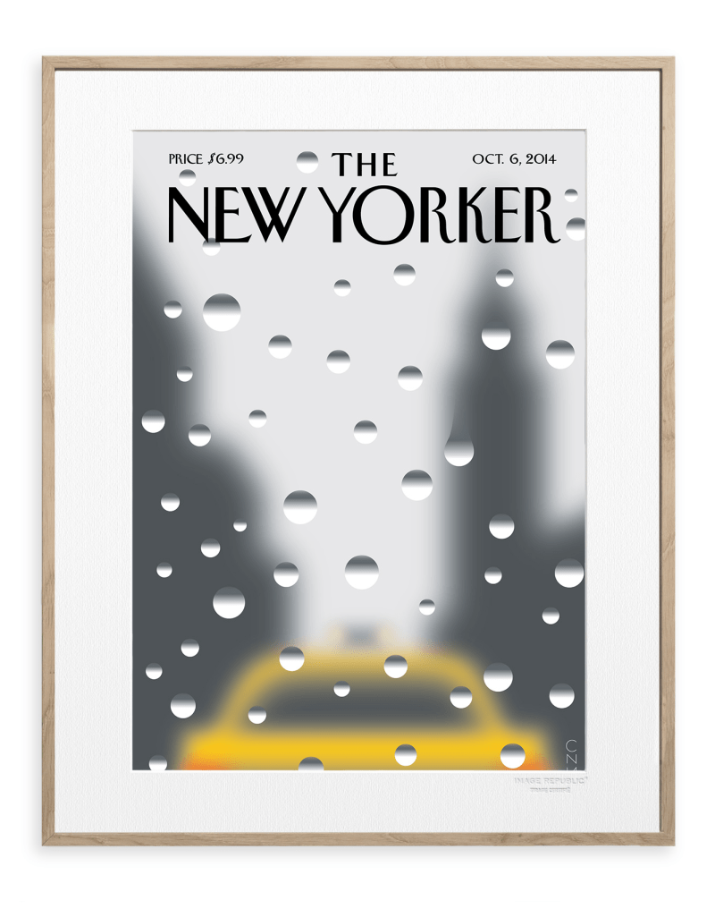 "La Une de ""The New-Yorker"" - Oct 2014"
