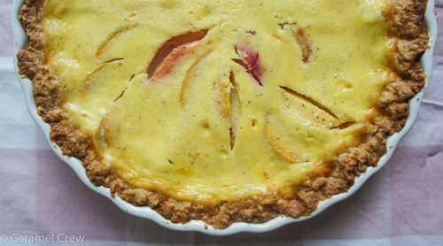 Extra creamy peach pie with a divine vanilla cream filling that is simple to make. Bake yourself a slice of summer with this dreamy, easy peach pie recipe.