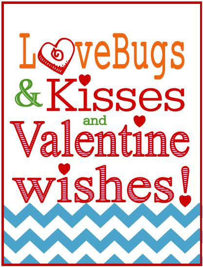 photo relating to Bugs and Kisses Printable named Caramel Potatoes » Get pleasure from Insects and Kisses Valentine Printable