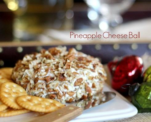 Pineapple Cheese Ball