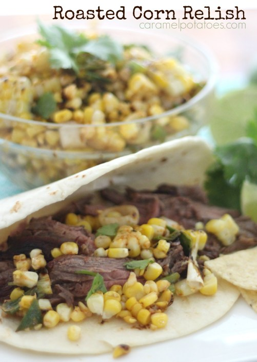 Roasted Corn Relish