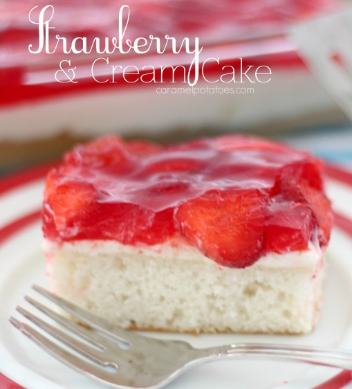 strawberry  and cream cake 053