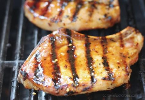 Sweet Fire Pork Chops 030