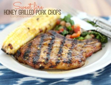 Sweet Fire Pork Chops