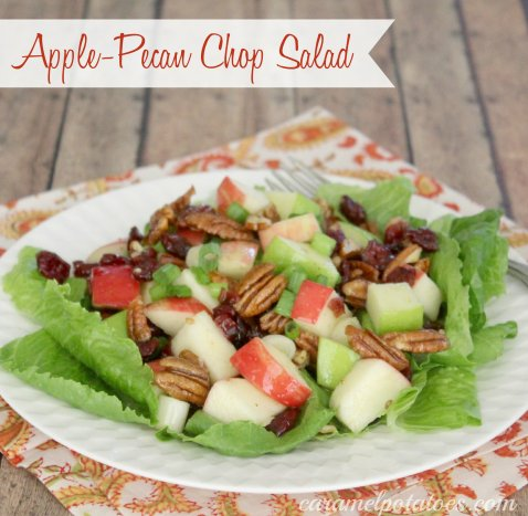 Apple Pecan Chop Salad