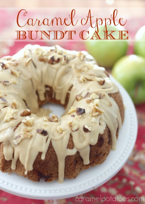 Caramel Apple Bundt