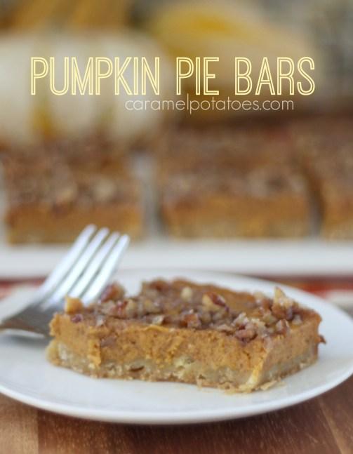 Pumpkin Pie Bars 015