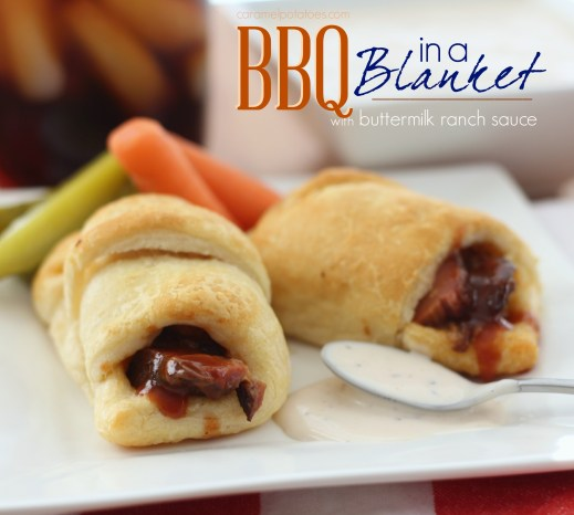 Caramel Potatoes » BBQ in a Blanket with Buttermilk Ranch ...