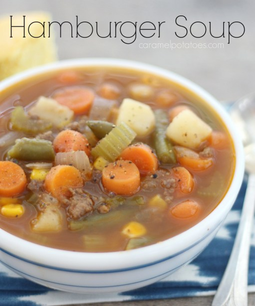 Hamburger soup 087