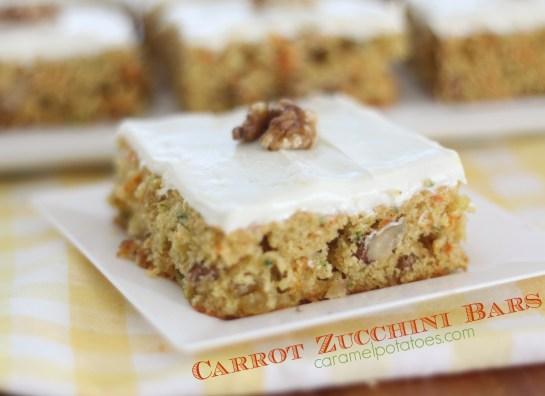 Carrot Zucchini  Bars 181