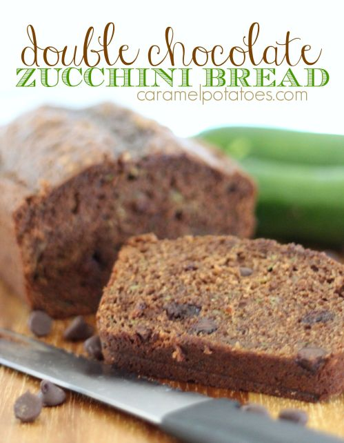 double chocolate zucchini bread 019