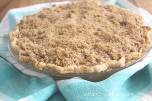 sour cream apple crumb pie 1265