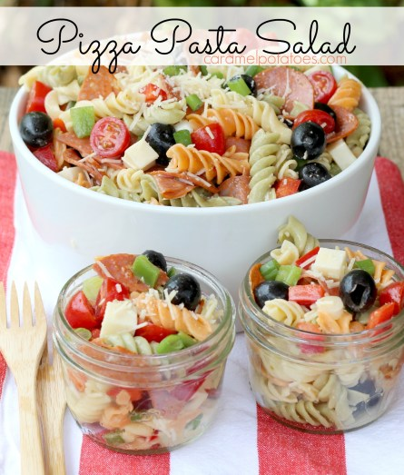 Pizza Pasta Salad 119