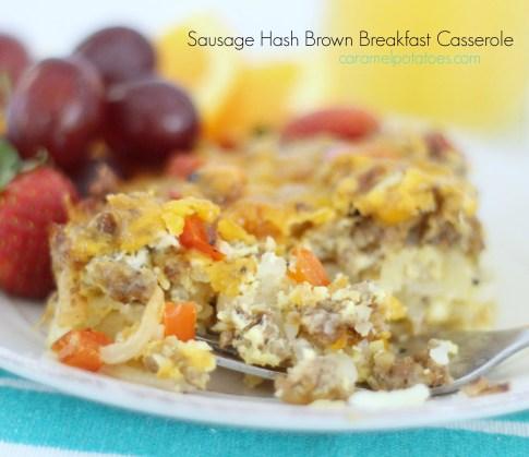 Sausage Hash Brown Breakfast